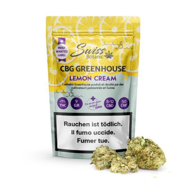 Lemon Cream 9g 12% CBG Greenhouse