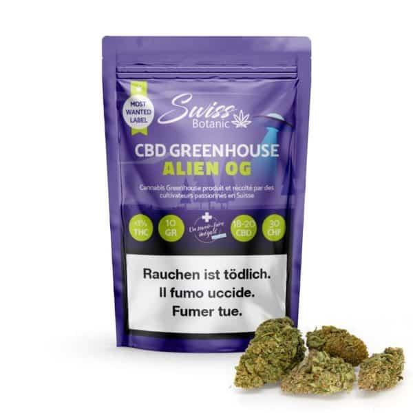 Alien OG cannabis legal, cbd shop en ligne